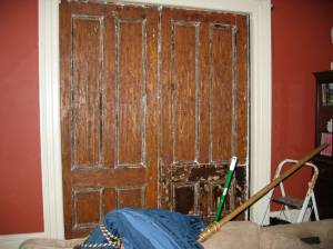 Last door heat gunned.