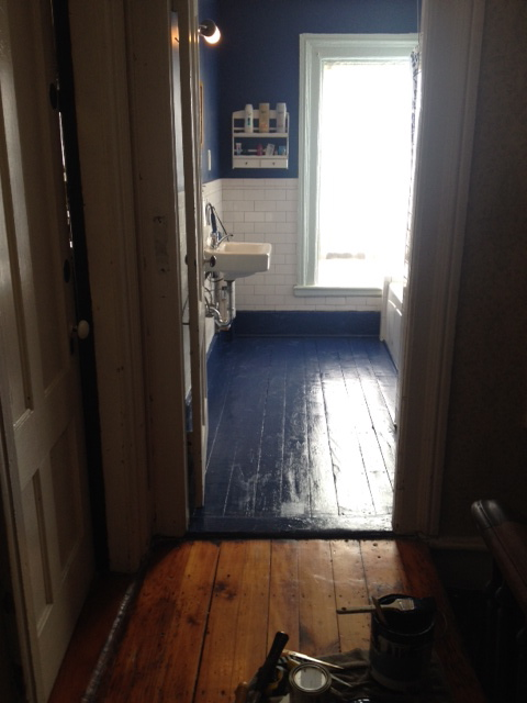 Can You Use Exterior Paint On Floors Townhouse Turnaround
